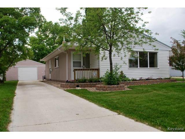 Main Photo: 436 Olive Street in WINNIPEG: St James Residential for sale (West Winnipeg)  : MLS®# 1413295
