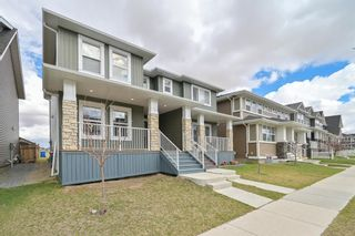 Main Photo: 162 REDSTONE Drive in Calgary: Redstone Semi Detached for sale : MLS®# A1102876