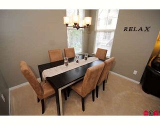 """Photo 5: 49 15152 62A Avenue in Surrey: Sullivan Station Townhouse for sale in """"Uplands"""" : MLS®# F2831409"""