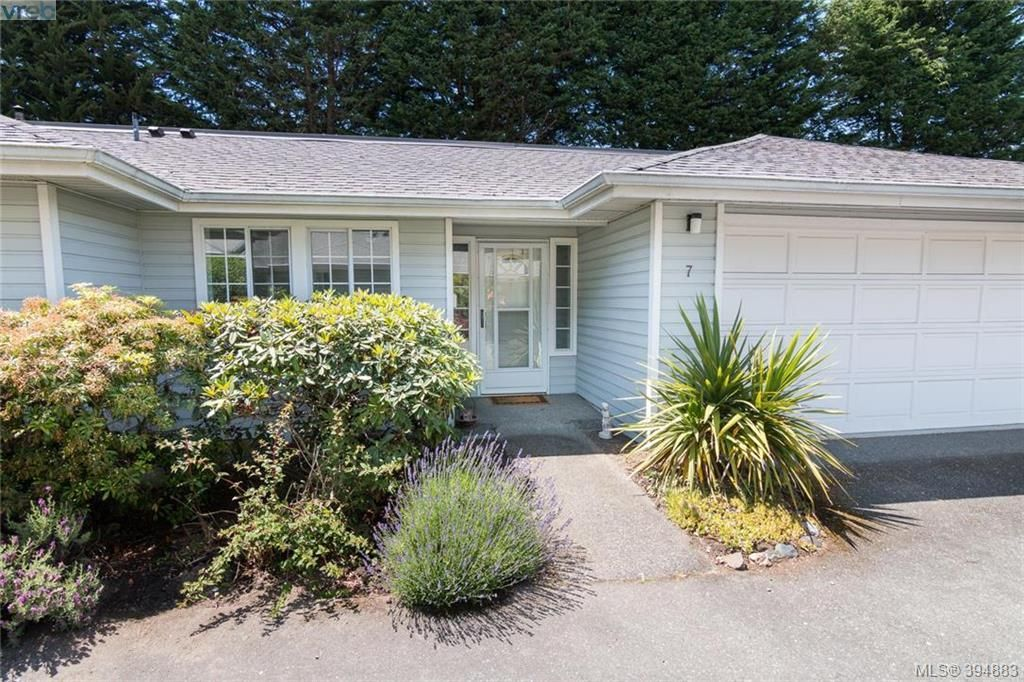 Main Photo: 7 3966 Cedar Hill Cross Rd in VICTORIA: SE Maplewood Row/Townhouse for sale (Saanich East)  : MLS®# 791628