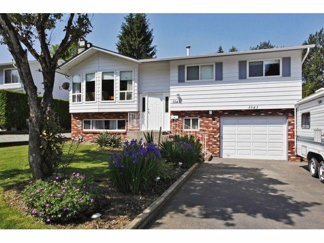 Main Photo: 3543 MONASHEE Street in Abbotsford: Abbotsford East House for sale : MLS®# F1413937