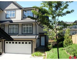 """Photo 1: 67 19932 70TH Avenue in Langley: Willoughby Heights Townhouse for sale in """"Summerwood"""" : MLS®# F2724161"""