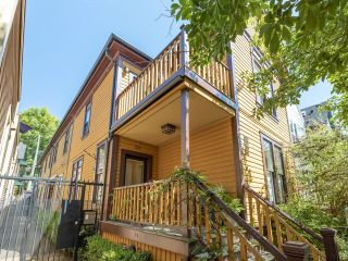 """Main Photo: 507 UNION Street in Vancouver: Strathcona Townhouse for sale in """"MORTON HOUSE"""" (Vancouver East)  : MLS®# R2606574"""