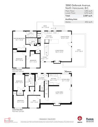 Photo 20: 3990 DELBROOK Avenue in North Vancouver: Upper Delbrook House for sale : MLS®# R2167671