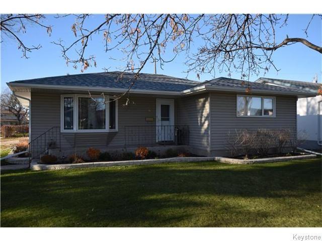 Main Photo: 2 Hanna Street in Winnipeg: Margaret Park Residential for sale (4D)  : MLS®# 1628580