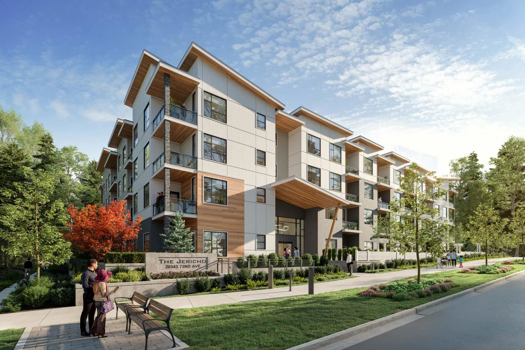 """Main Photo: 305 20343 72 Avenue in Langley: Willoughby Heights Condo for sale in """"Jericho"""" : MLS®# R2612295"""