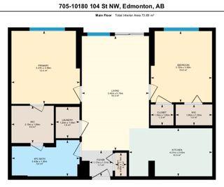 Photo 9: 705 10180 104 Street NW in Edmonton: Zone 12 Condo for sale : MLS®# E4245573