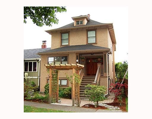 """Main Photo: 644 W 20TH Avenue in Vancouver: Cambie House for sale in """"DOUGLAS PARK"""" (Vancouver West)  : MLS®# V662117"""