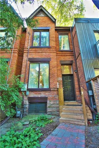 Main Photo: 116 Sumach St in Toronto: Regent Park Freehold for sale (Toronto C08)  : MLS®# C3918173