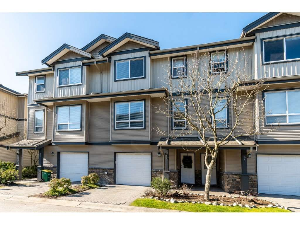 Main Photo: 35-3127 Skeena Street in Port Coquitlam: Riverwood Townhouse for sale : MLS®# R2467858