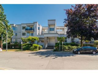 Photo 1: 203 20240 54A AVENUE in Langley: Langley City Condo for sale : MLS®# R2194442