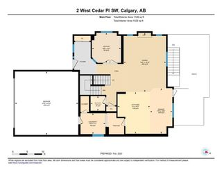Photo 42: 2 WEST CEDAR Place SW in Calgary: West Springs Detached for sale : MLS®# C4286734