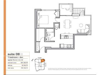 Photo 15: 2508 928 BEATTY STREET in Vancouver: Yaletown Condo for sale (Vancouver West)  : MLS®# R2047968