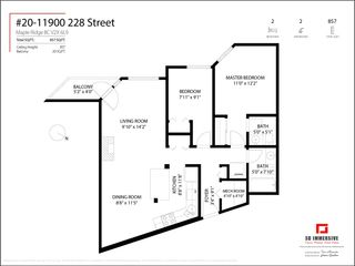 Photo 23: 20 11900 228 STREET in Maple Ridge: East Central Condo for sale : MLS®# R2575566