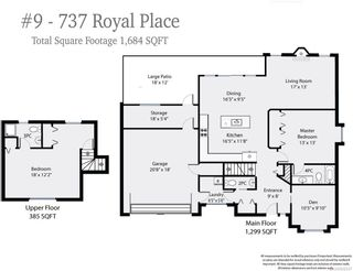 Photo 9: 9 737 ROYAL PLACE in COURTENAY: CV Crown Isle Row/Townhouse for sale (Comox Valley)  : MLS®# 826537