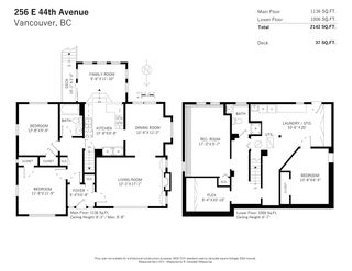 Photo 31: 256 E 44TH Avenue in Vancouver: Main House for sale (Vancouver East)  : MLS®# R2568185