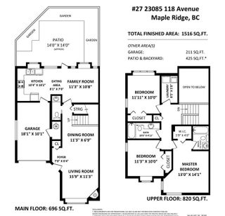 """Photo 21: 27 23085 118 Avenue in Maple Ridge: East Central Townhouse for sale in """"SOMMERVILLE GARDENS"""" : MLS®# R2490067"""