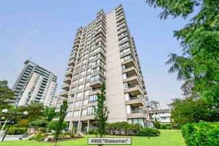 """Photo 1: 905 740 HAMILTON Street in New Westminster: Uptown NW Condo for sale in """"Statesman"""" : MLS®# R2522713"""