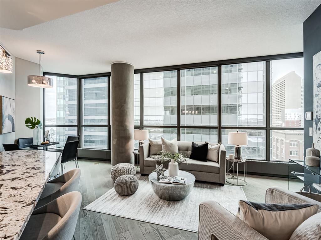 Main Photo: 910 225 11 Avenue SE in Calgary: Beltline Apartment for sale : MLS®# A1068371
