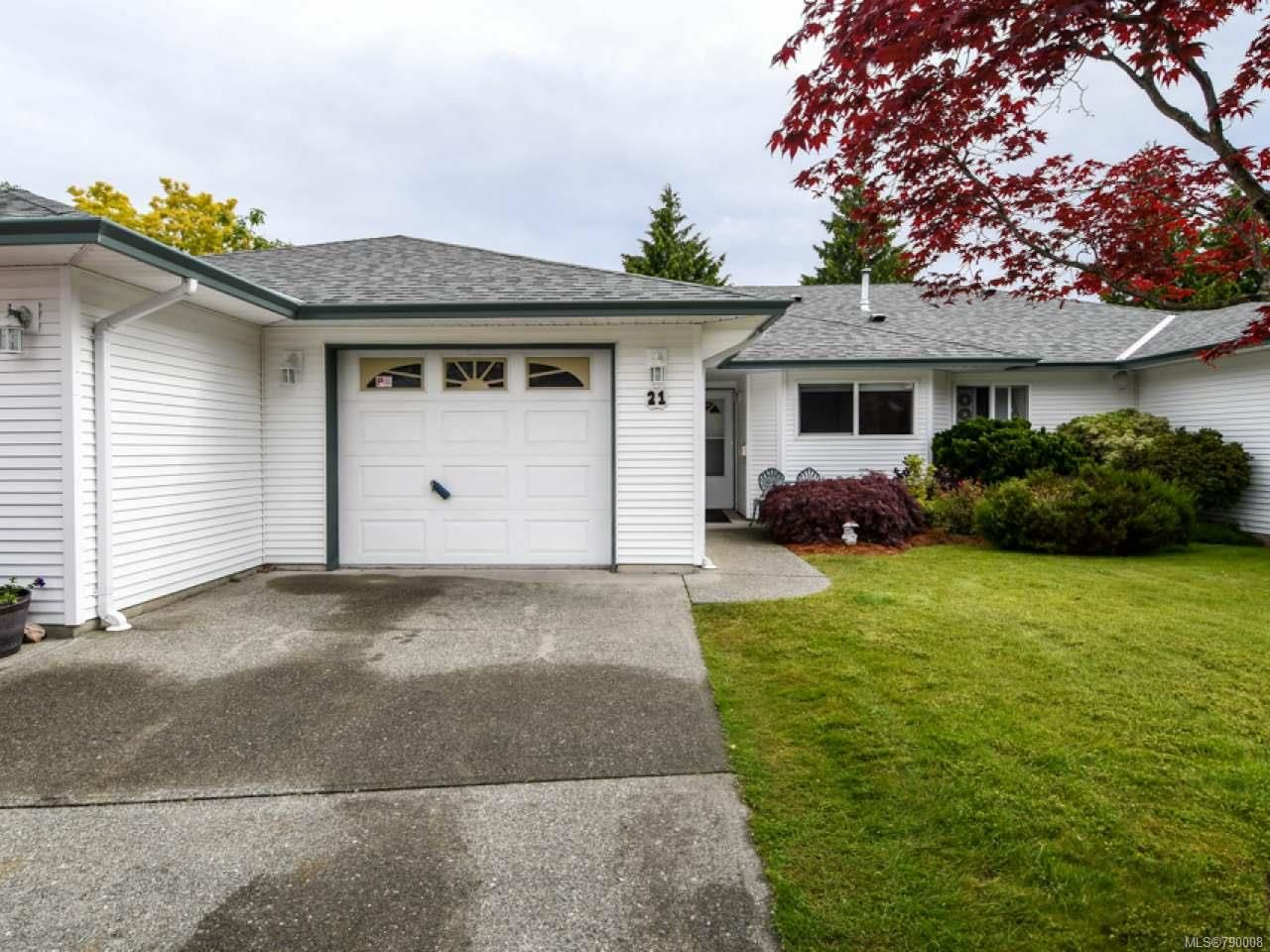 Main Photo: 21 396 HARROGATE ROAD in CAMPBELL RIVER: CR Willow Point Row/Townhouse for sale (Campbell River)  : MLS®# 790008