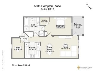 """Photo 20: 218 5835 HAMPTON Place in Vancouver: University VW Condo for sale in """"ST JAMES HOUSE"""" (Vancouver West)  : MLS®# V1116067"""