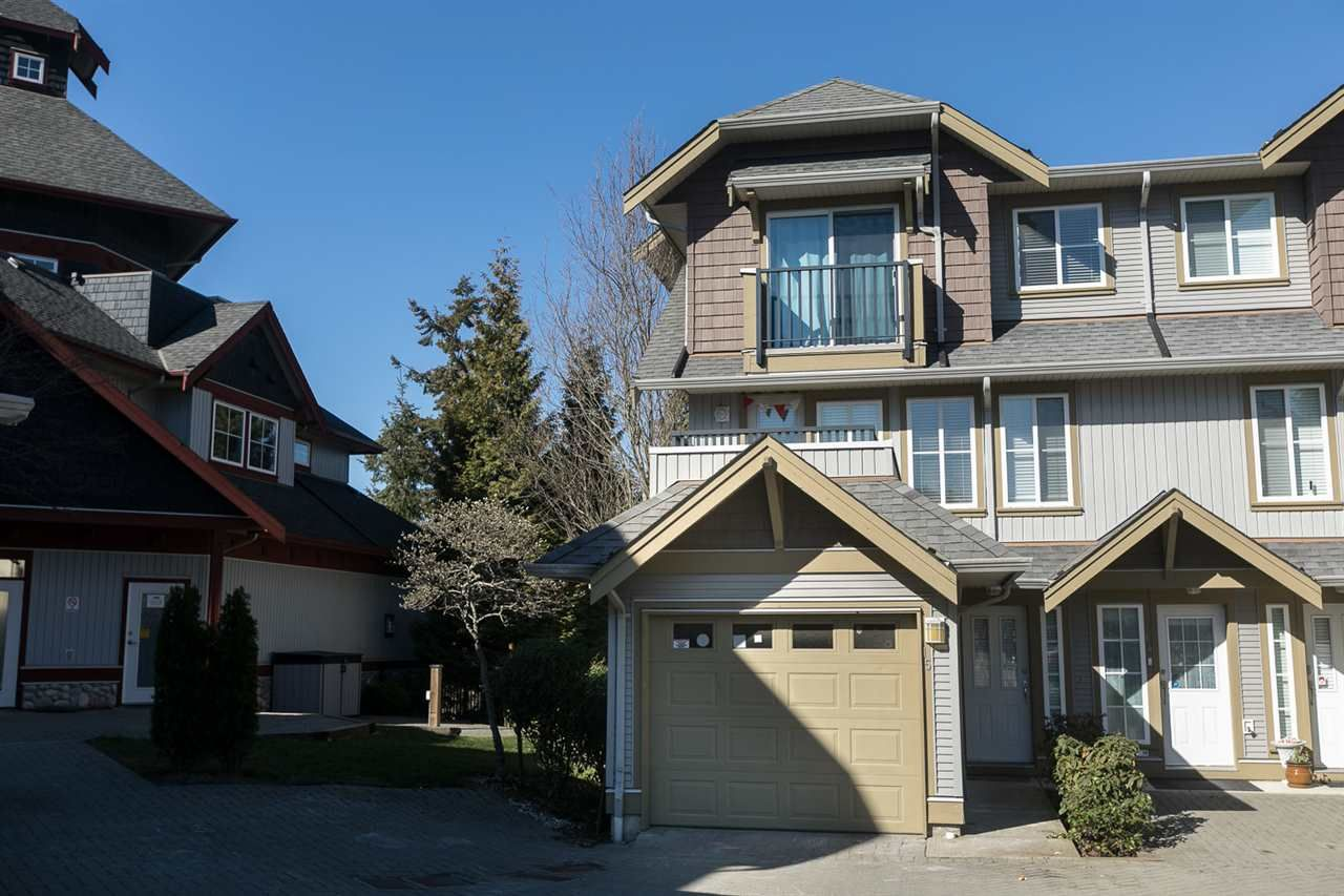 "Main Photo: 15 12040 68 Avenue in Surrey: West Newton Townhouse for sale in ""Terrane"" : MLS®# R2340084"