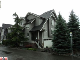 """Photo 1: 1 5965 JINKERSON Road in Sardis: Promontory Townhouse for sale in """"EAGLE VIEW RIDGE"""" : MLS®# H1202521"""