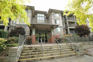 """Photo 1: 401 2468 ATKINS Avenue in Port Coquitlam: Central Pt Coquitlam Condo for sale in """"THE BORDEAUX"""" : MLS®# R2019309"""