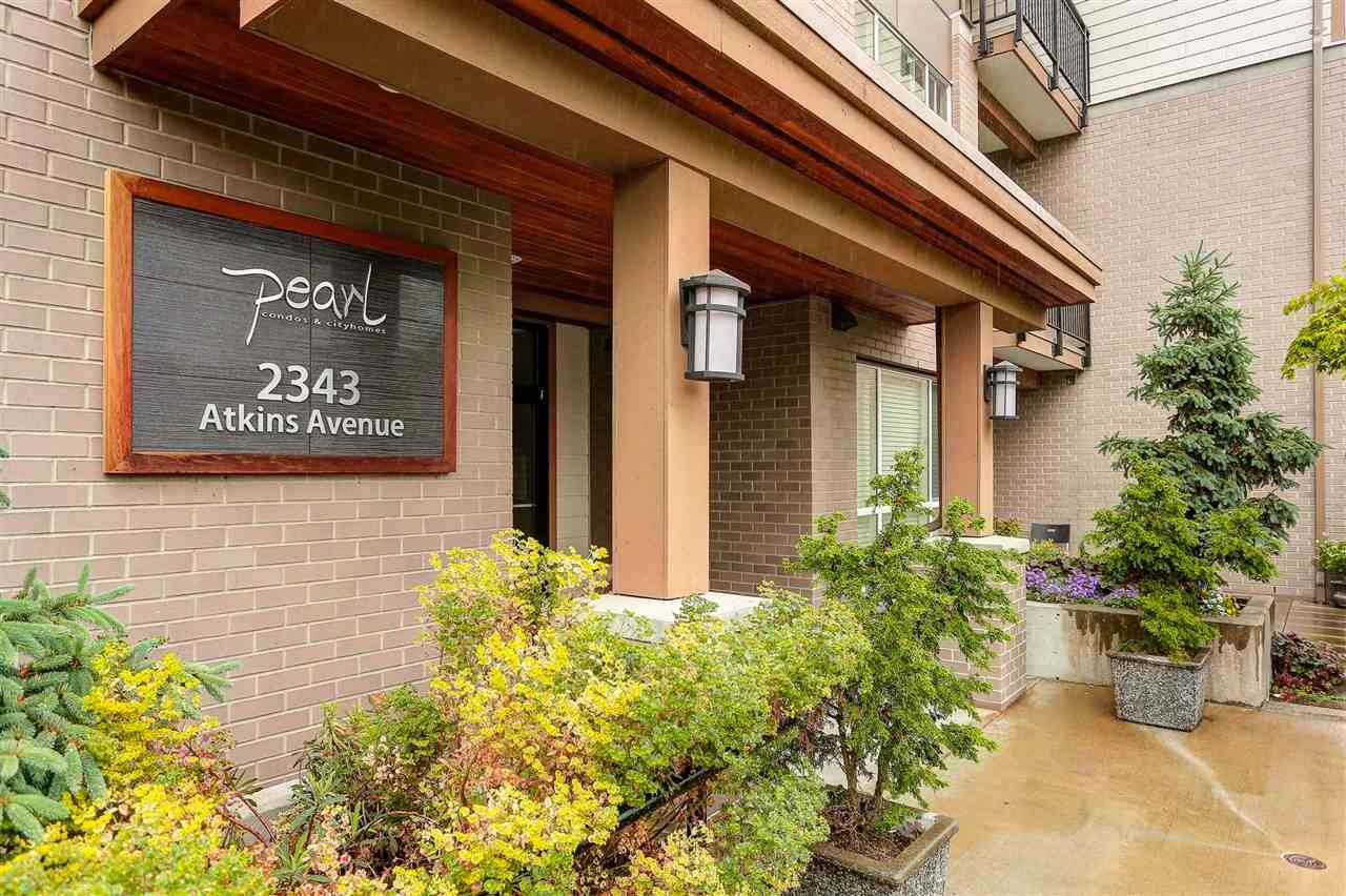 Main Photo: 405 2343 ATKINS AVENUE in Port Coquitlam: Central Pt Coquitlam Condo for sale : MLS®# R2074888