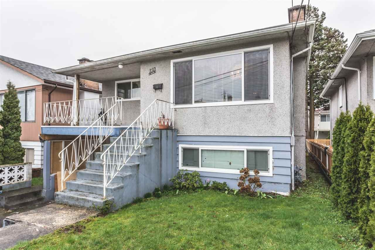 Main Photo: 350 E 61ST Avenue in Vancouver: South Vancouver House for sale (Vancouver East)  : MLS®# R2037430