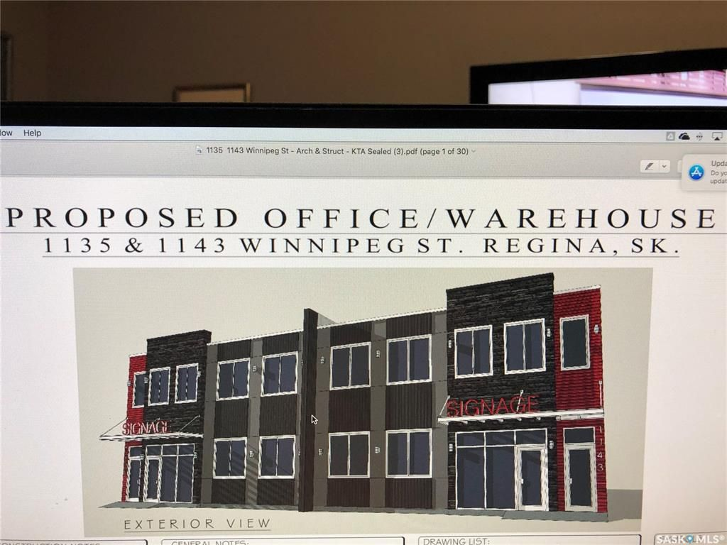 Main Photo: 1143 Winnipeg Street in Regina: Warehouse District Commercial for lease : MLS®# SK841031