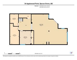 Photo 50: 34 Applewood Point: Spruce Grove House for sale : MLS®# E4266300