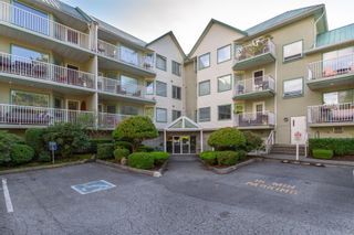 Photo 1: 109 19236 FORD Road in Pitt Meadows: Central Meadows Condo for sale : MLS®# R2615829