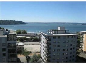 Main Photo: 1002 555 13TH STREET in West Vancouver: Ambleside Condo for sale : MLS®# R2115445