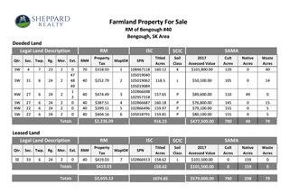 Photo 2: Land For Sale - RM Bengough #40 & Key West #70 - 6 Quarters Deeded & 1 Crown Lease Quarter