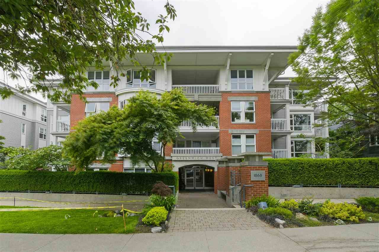 Main Photo: 110 1868 W 5TH Avenue in Vancouver: Kitsilano Condo for sale (Vancouver West)  : MLS®# R2377901