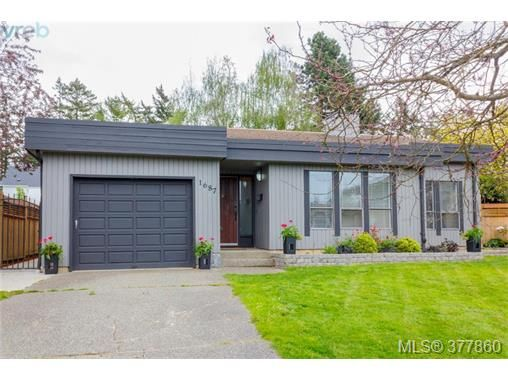 Main Photo: 1687 Brousson Dr in VICTORIA: SE Gordon Head House for sale (Saanich East)  : MLS®# 758742