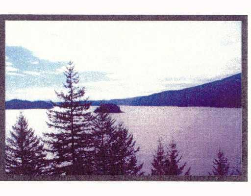 Main Photo: # LT 2&3 INDIAN ARM BB: Belcarra Land for sale (Port Moody)  : MLS®# V656319