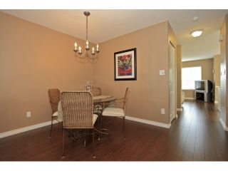 """Photo 4: 18650 65TH Avenue in SURREY: Cloverdale BC Townhouse for sale in """"RIDGEWAY"""" (Cloverdale)  : MLS®# F1215322"""