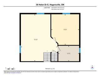 Photo 42: 36 East Helen Drive in Hagersville: House for sale : MLS®# H4065714