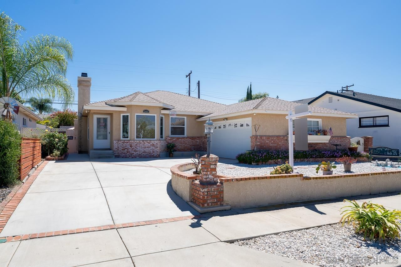 Main Photo: DEL CERRO House for sale : 3 bedrooms : 5459 Forbes Ave in San Diego