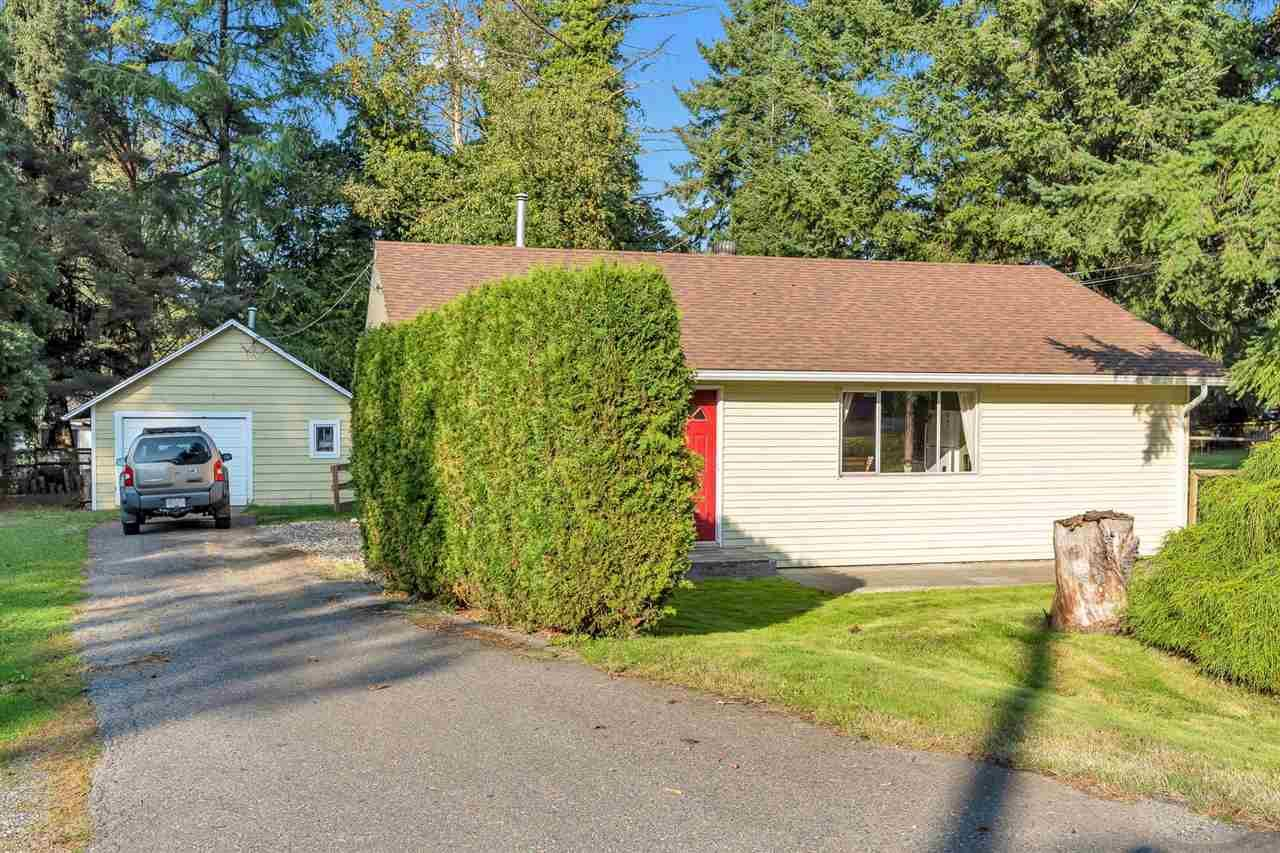 Main Photo: 23767 OLD YALE Road in Langley: Campbell Valley House for sale : MLS®# R2504554