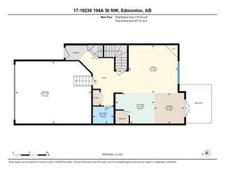 Photo 40: 17 18230 104A Street in Edmonton: Zone 27 Townhouse for sale : MLS®# E4250224