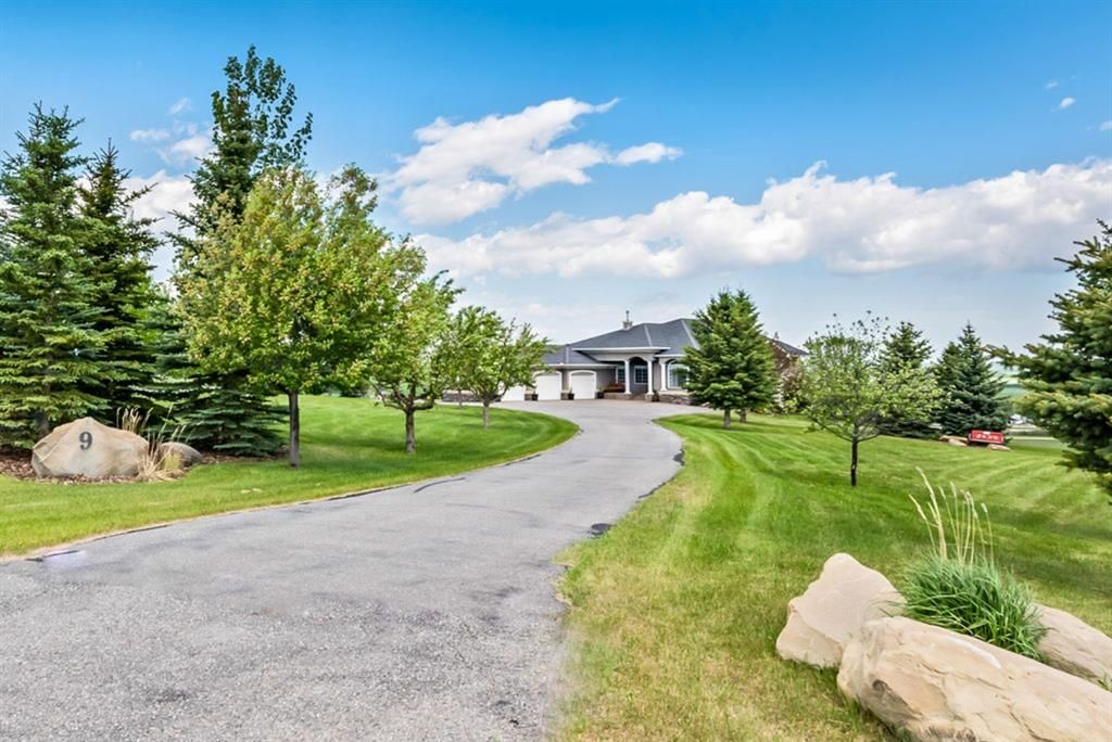 Main Photo: 9 Red Willow Crescent W: Rural Foothills County Detached for sale : MLS®# A1113275