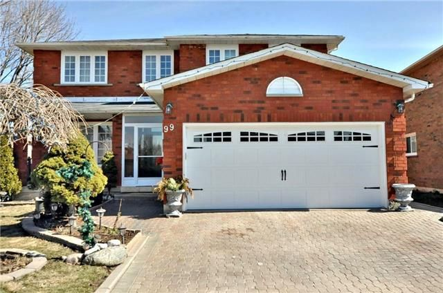 Main Photo: 99 Crandall Drive in Markham: Raymerville House (2-Storey) for sale : MLS®# N3738088