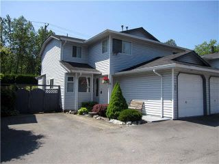 """Photo 1: 105 11255 HARRISON Street in Maple Ridge: East Central Townhouse for sale in """"RIVER HEIGHTS"""" : MLS®# V1107539"""