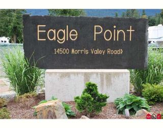 "Photo 1: 93 14500 MORRIS VALLEY Road in Mission: Lake Errock Land for sale in ""Eagle Point Estates"" : MLS®# F2905639"