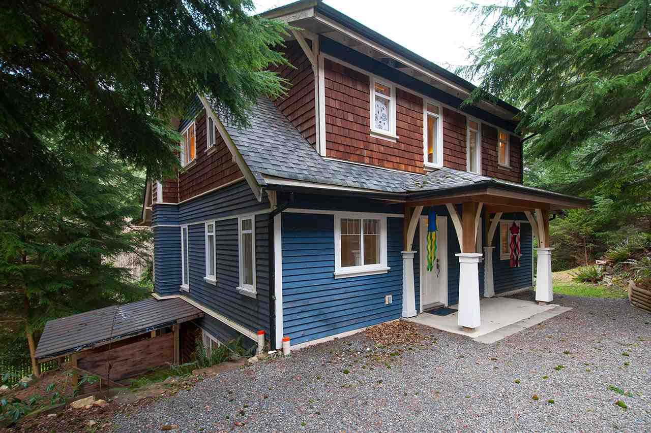 Main Photo: 1287 SCARBOROUGH ROAD in : Bowen Island House for sale : MLS®# R2260626