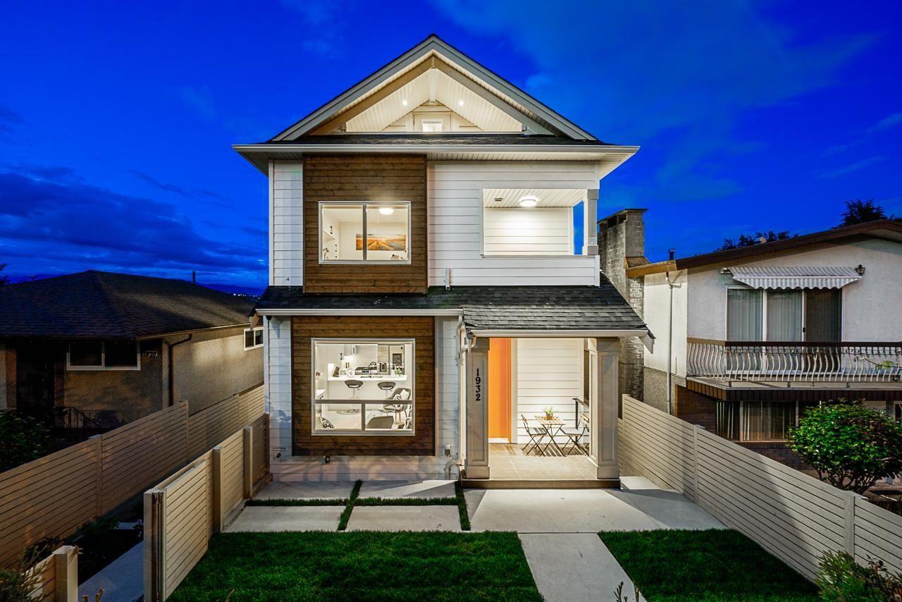 Main Photo: 1932 RUPERT Street in Vancouver: Renfrew VE 1/2 Duplex for sale (Vancouver East)  : MLS®# R2602045