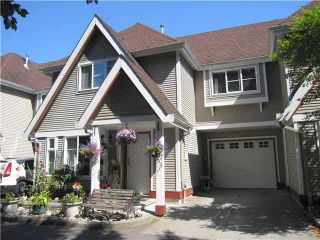 """Photo 1: 3 11458 232ND Street in Maple Ridge: Cottonwood MR Townhouse for sale in """"COLLEGE LANE"""" : MLS®# V1132006"""